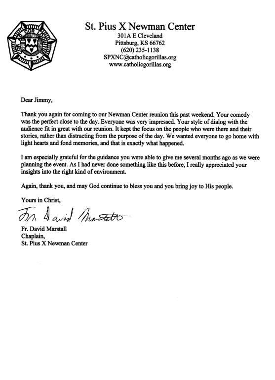 Jimbroganonline Com Testimonial Letters